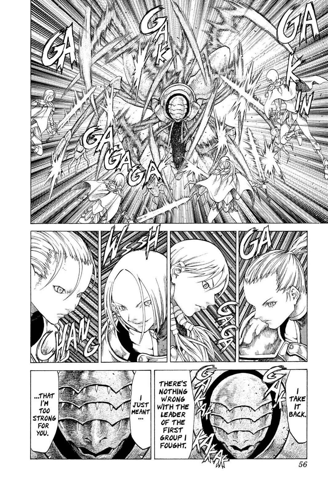 Claymore Chapter 53 Page 17