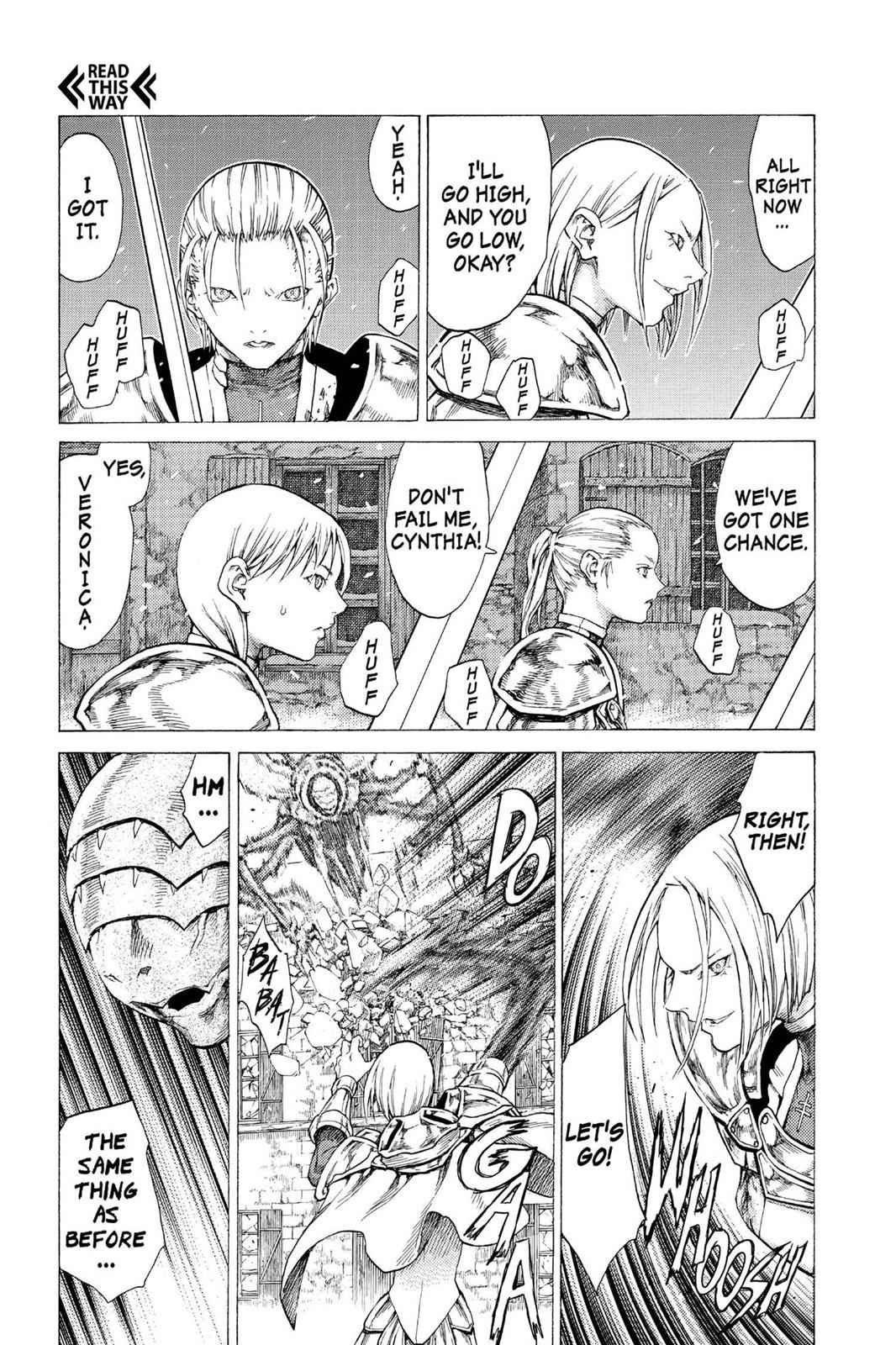 Claymore Chapter 53 Page 20
