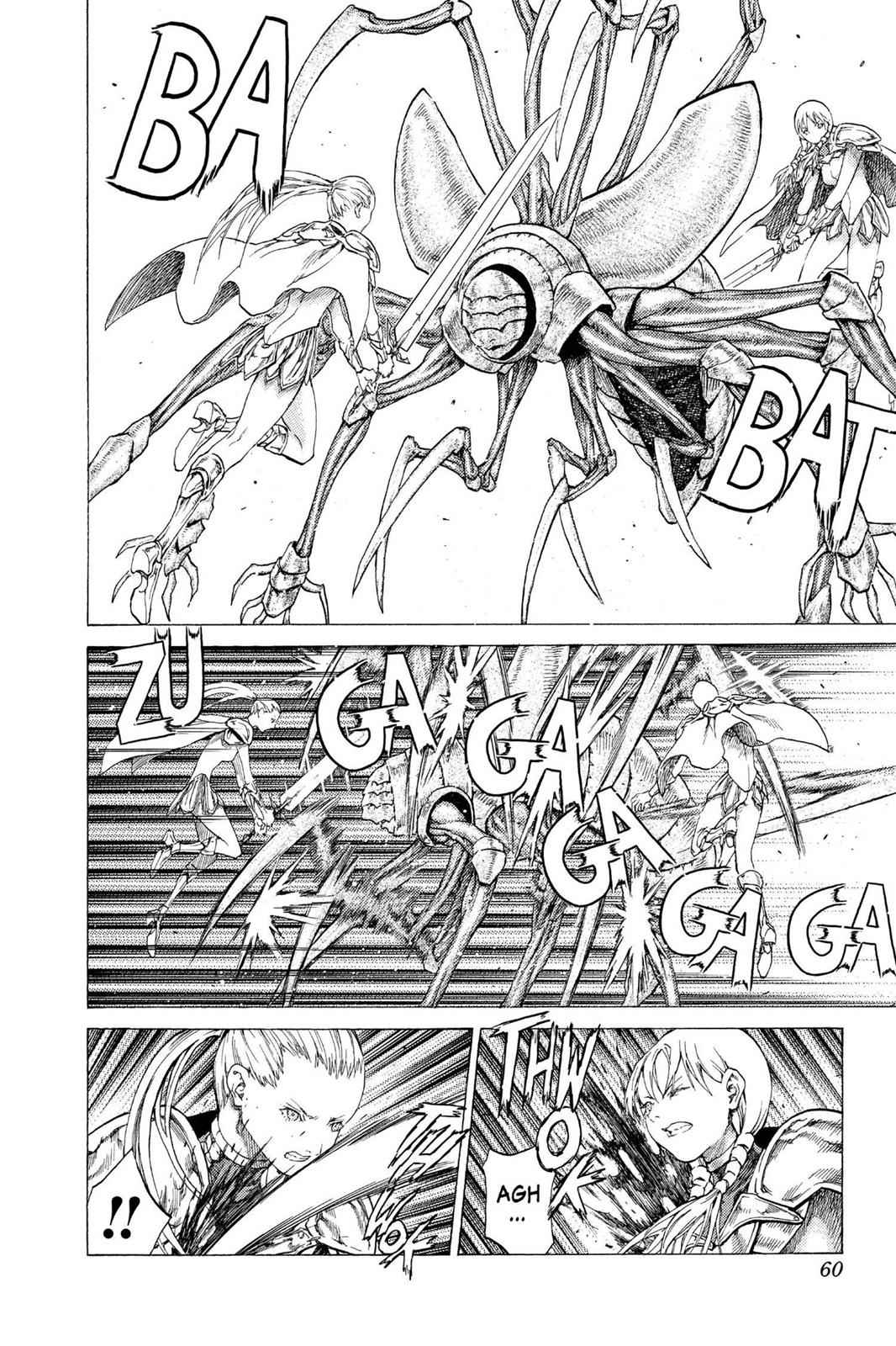 Claymore Chapter 53 Page 21