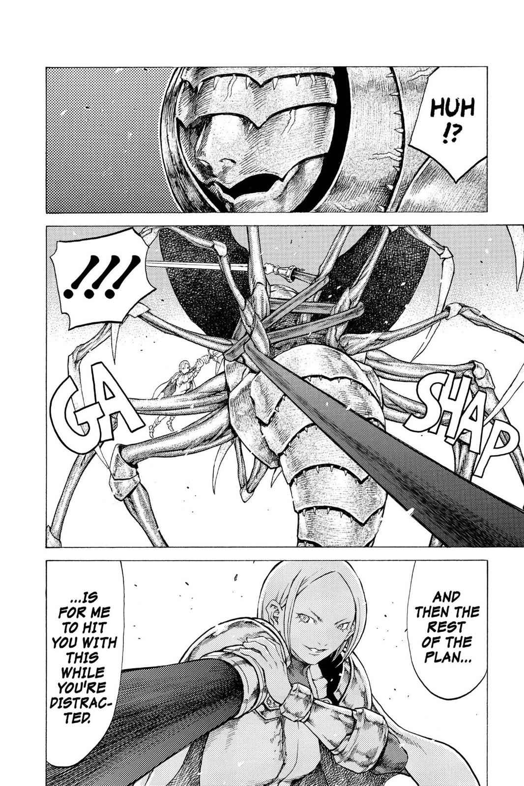 Claymore Chapter 53 Page 23