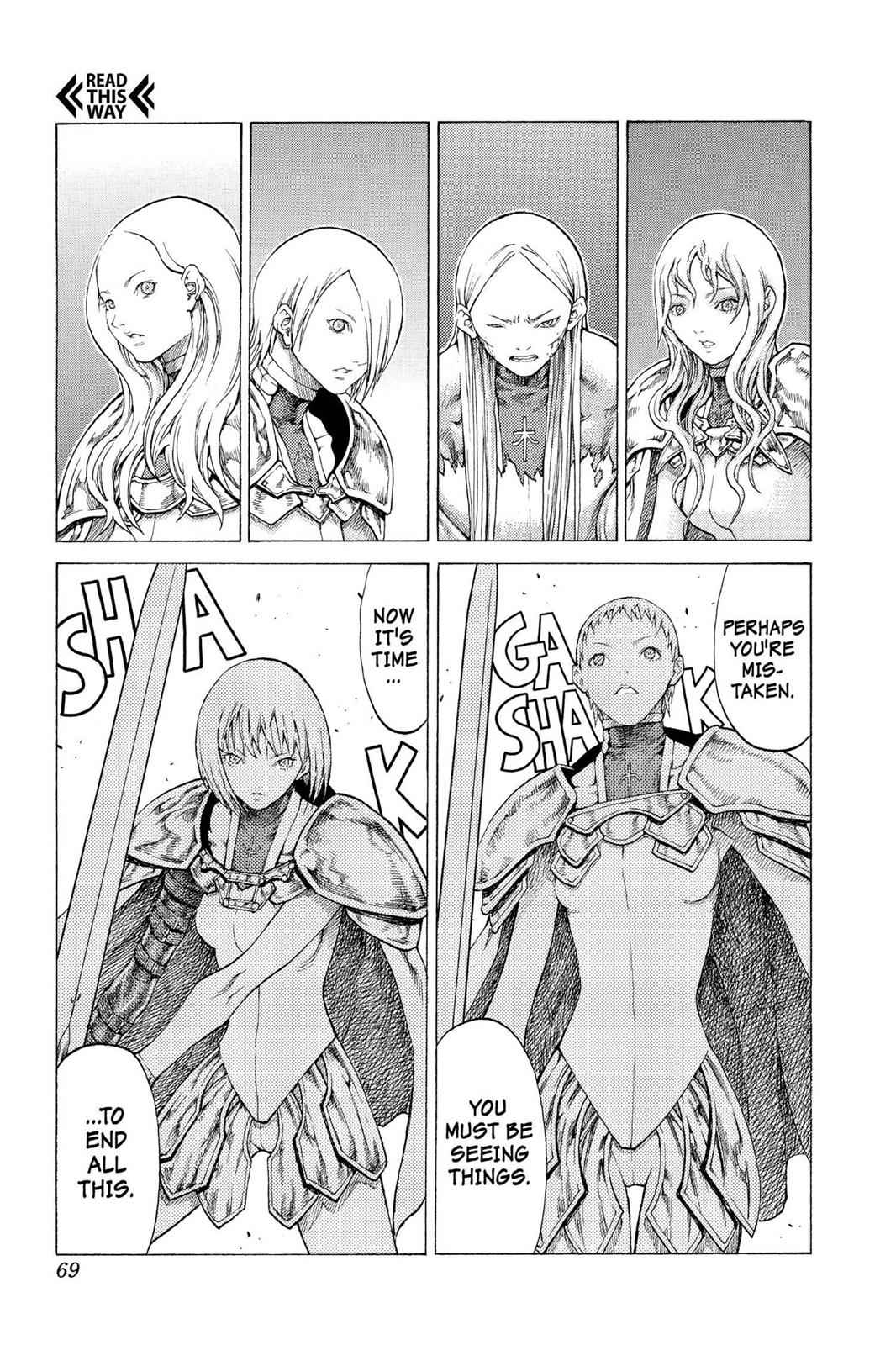 Claymore Chapter 53 Page 29