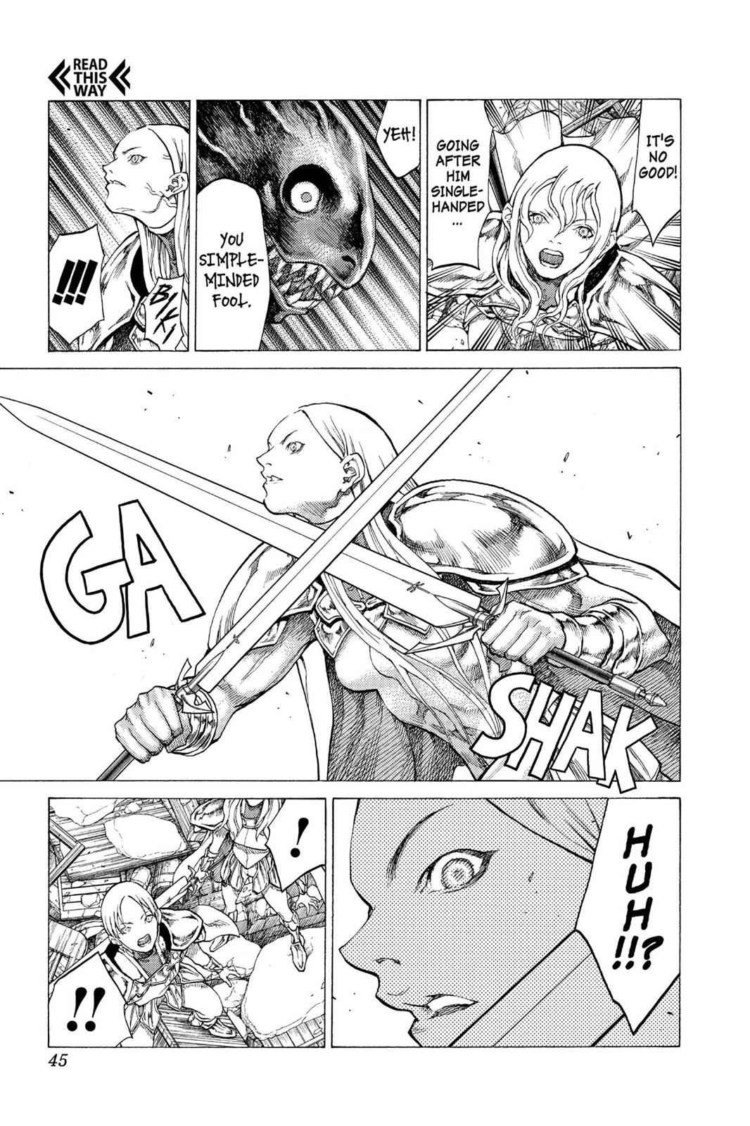 Claymore Chapter 53 Page 6