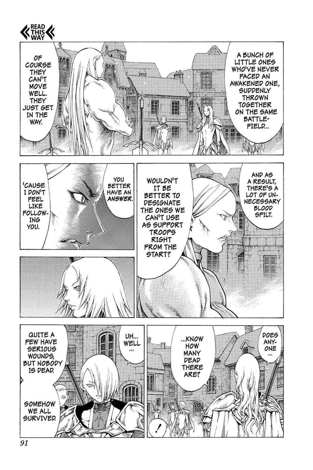 Claymore Chapter 54 Page 20