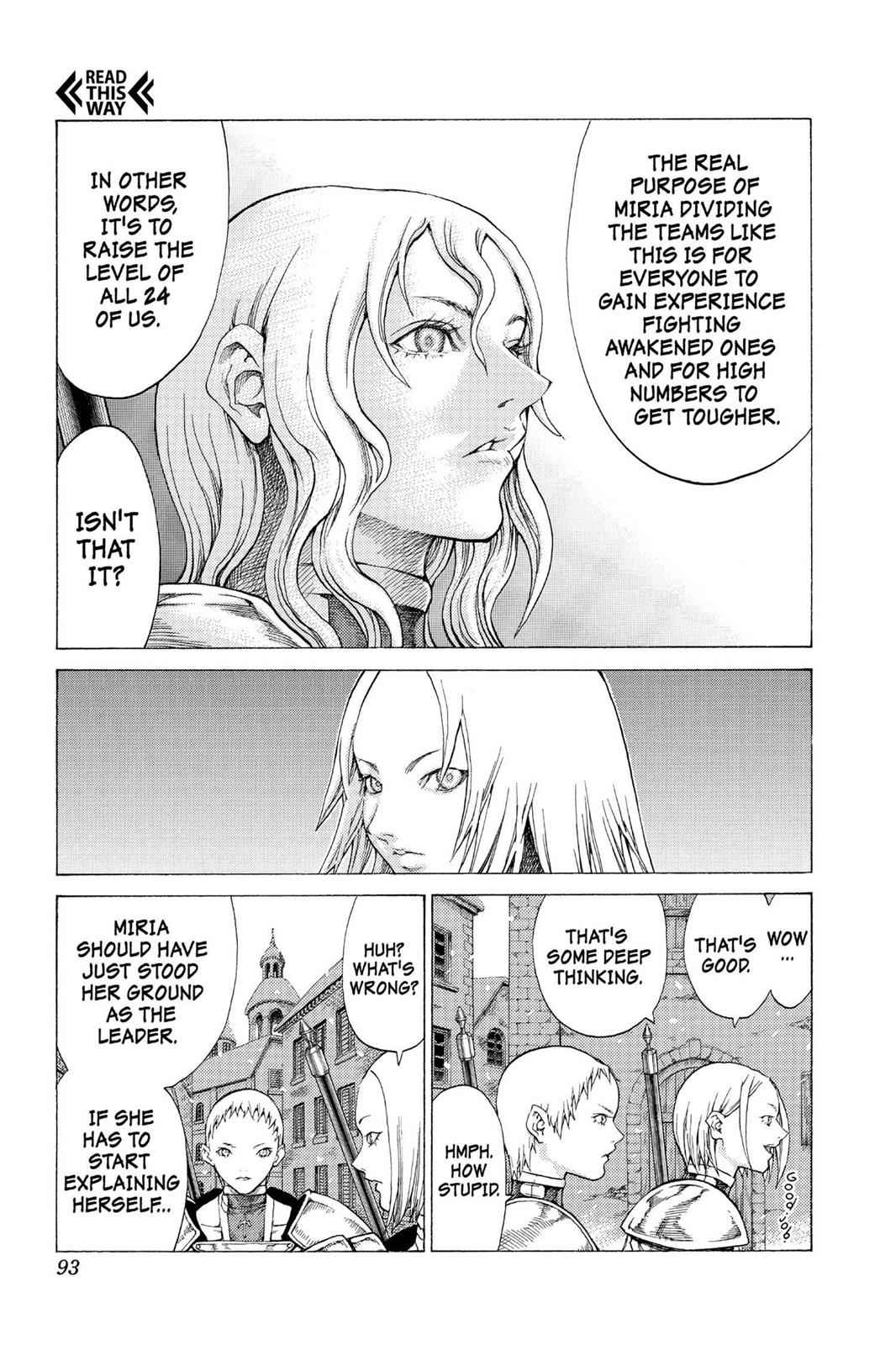Claymore Chapter 54 Page 22