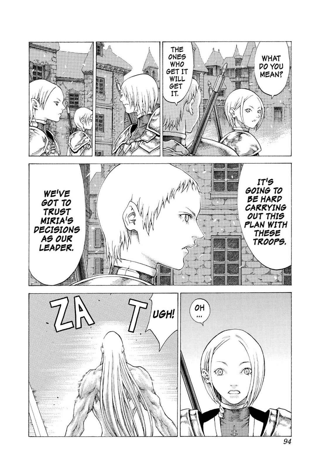 Claymore Chapter 54 Page 23