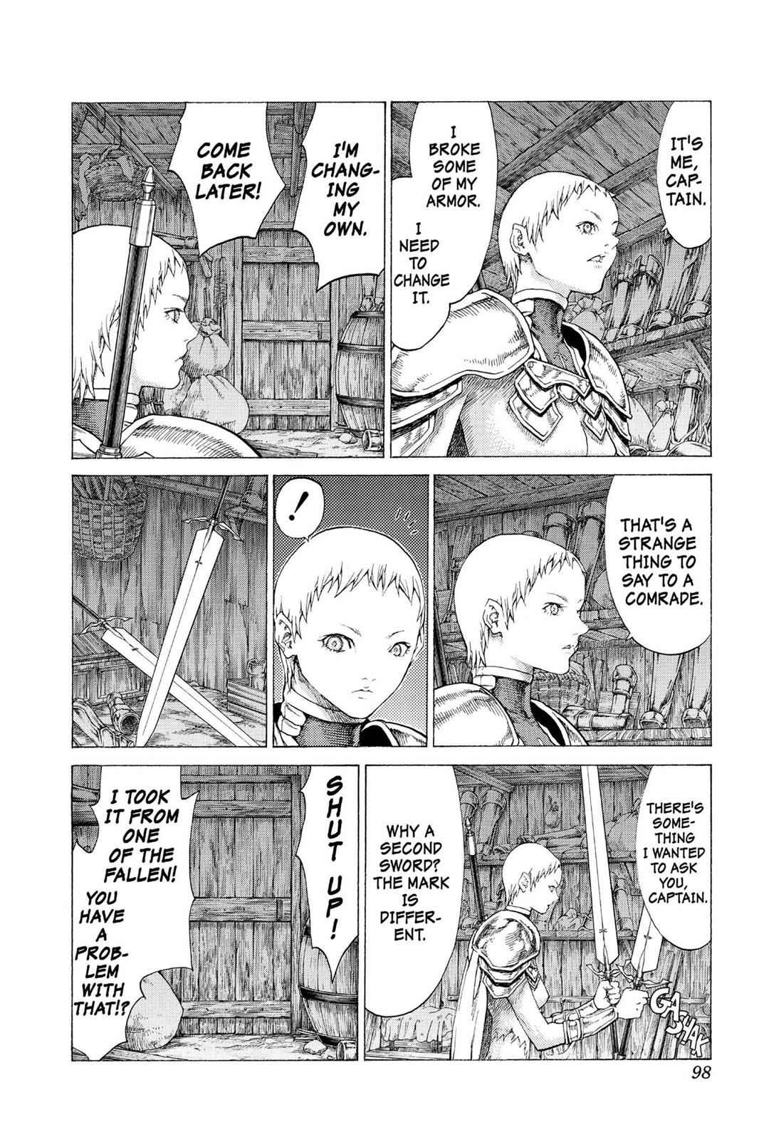 Claymore Chapter 54 Page 27