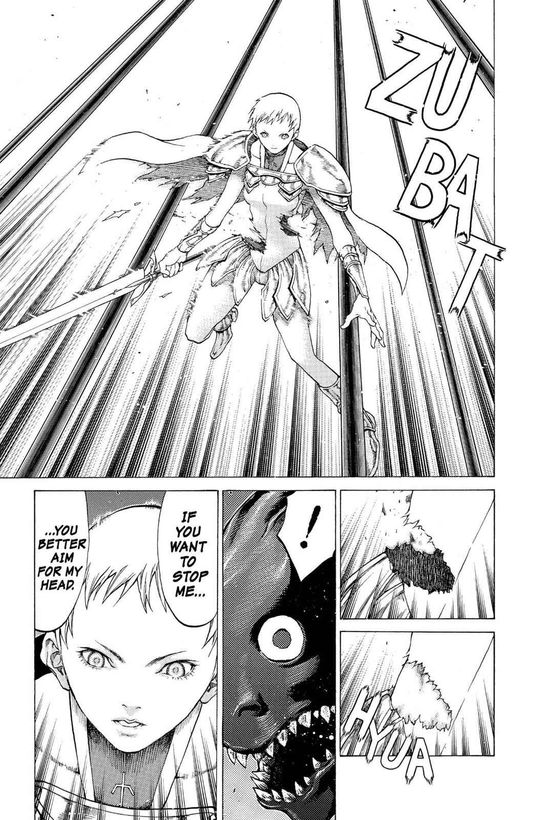 Claymore Chapter 54 Page 5