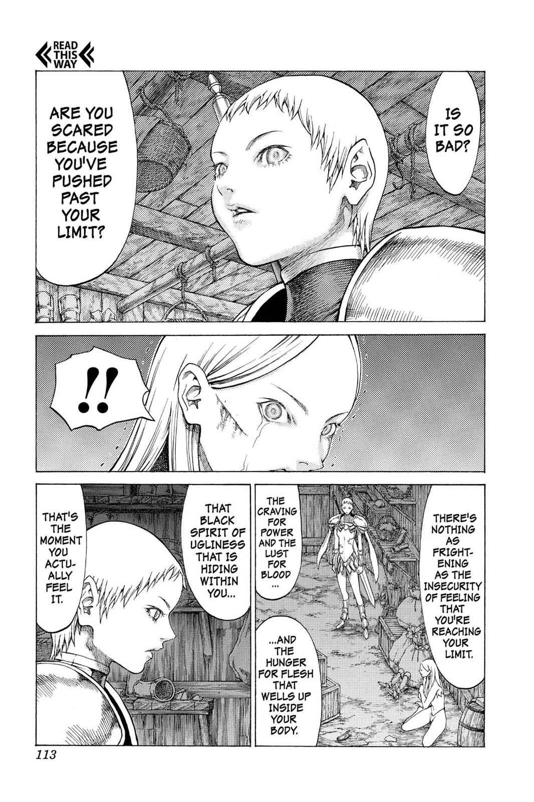 Claymore Chapter 55 Page 11