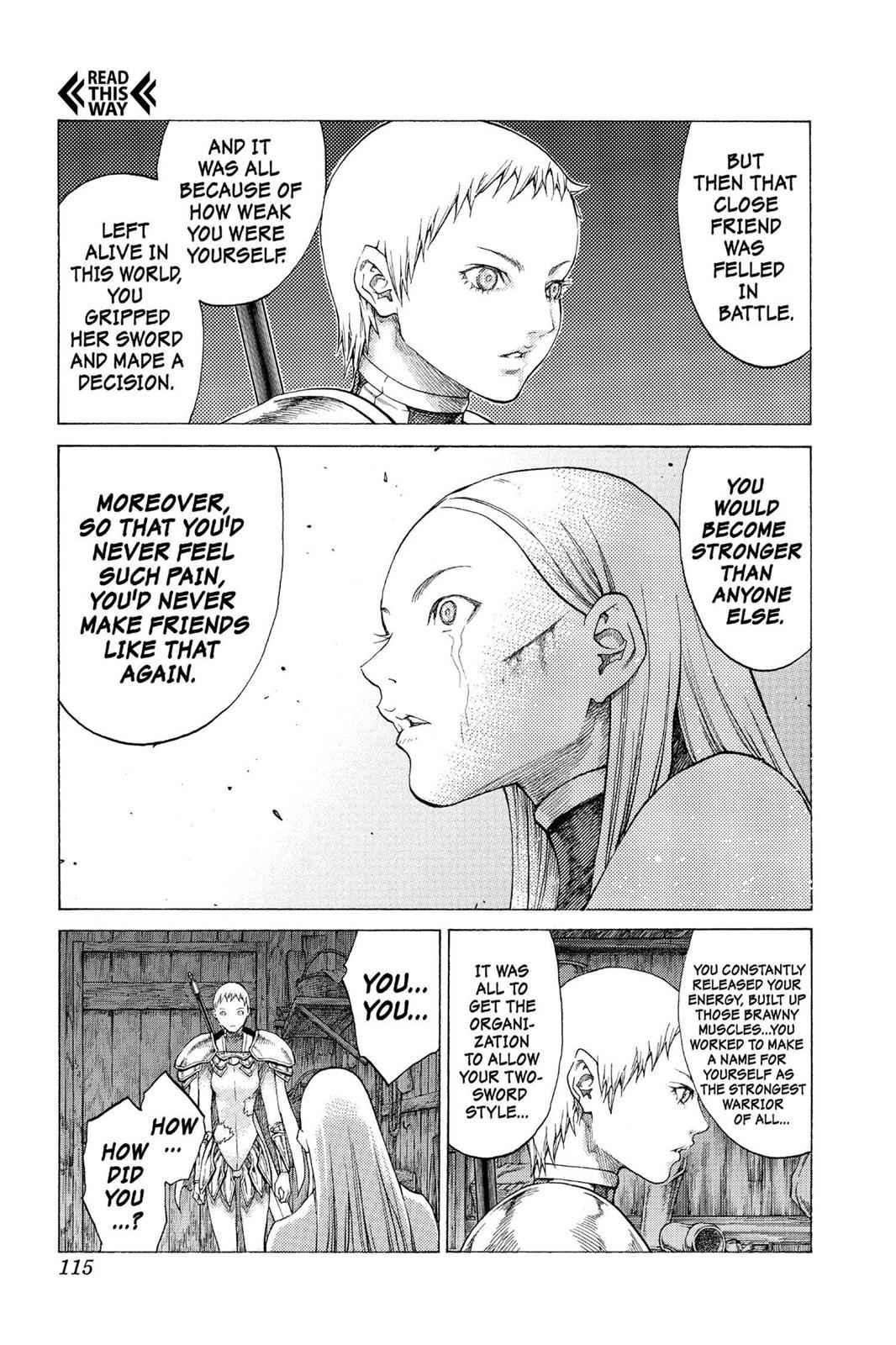 Claymore Chapter 55 Page 13