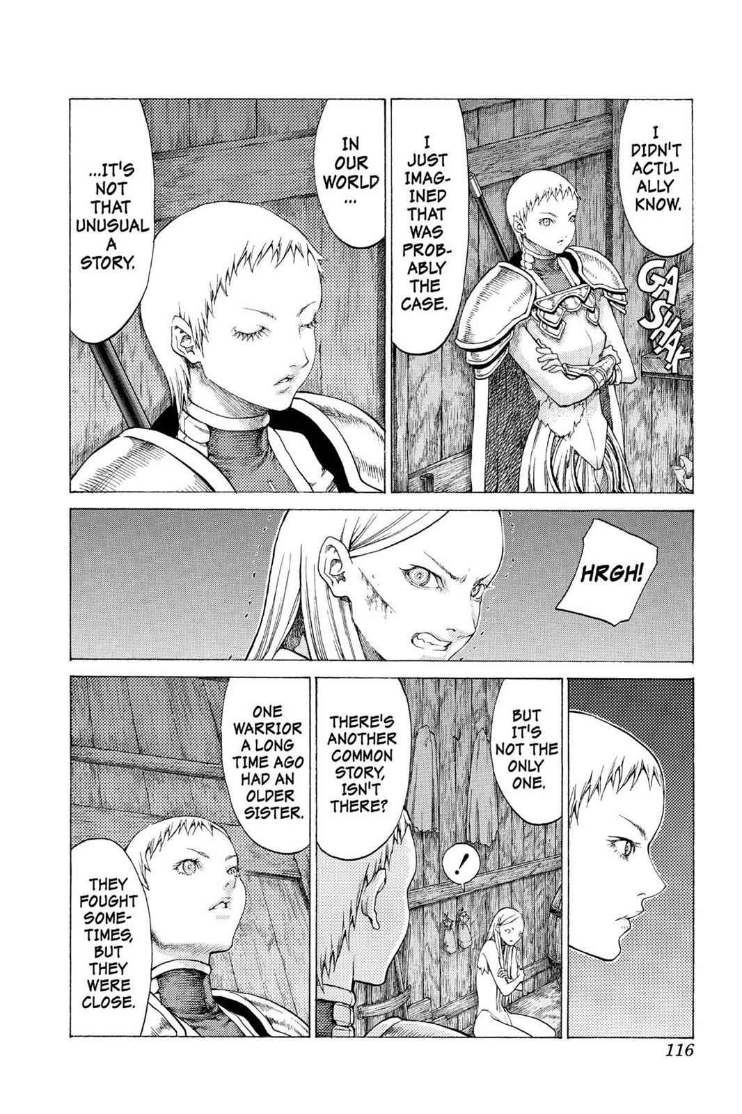 Claymore Chapter 55 Page 14