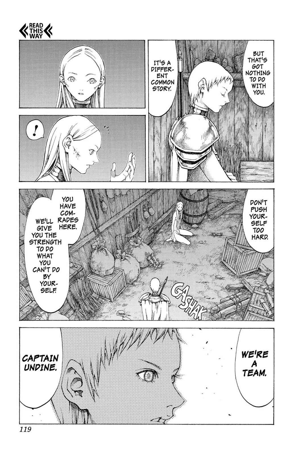 Claymore Chapter 55 Page 17