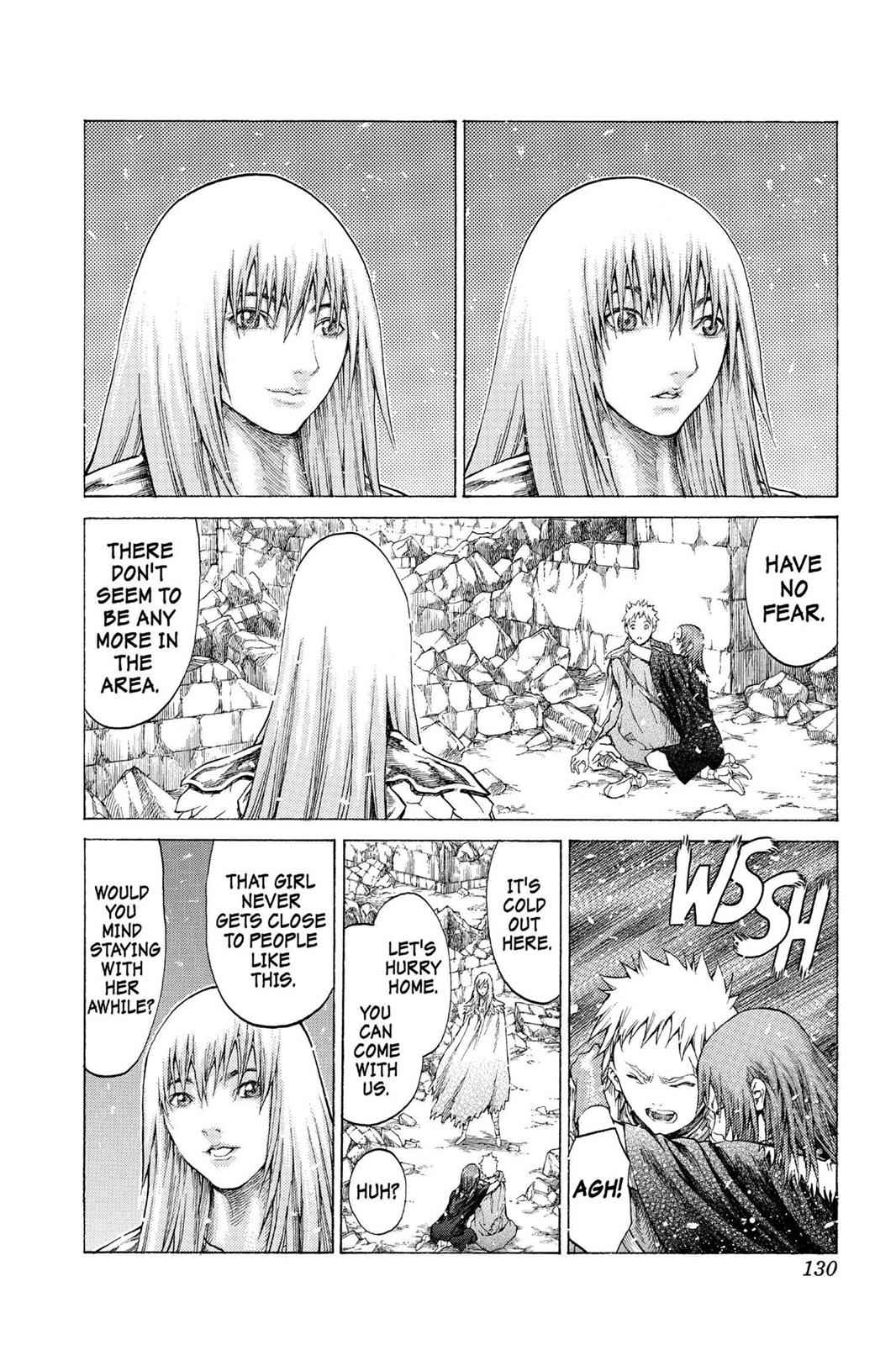 Claymore Chapter 55 Page 28