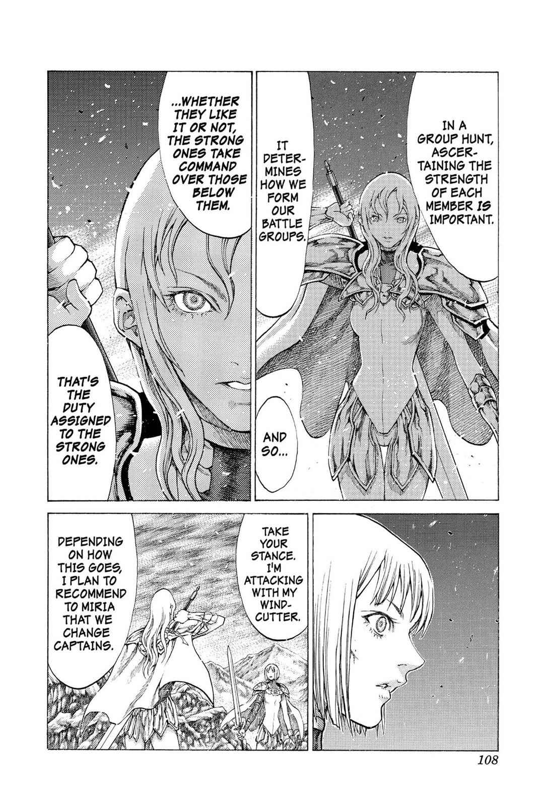 Claymore Chapter 55 Page 6