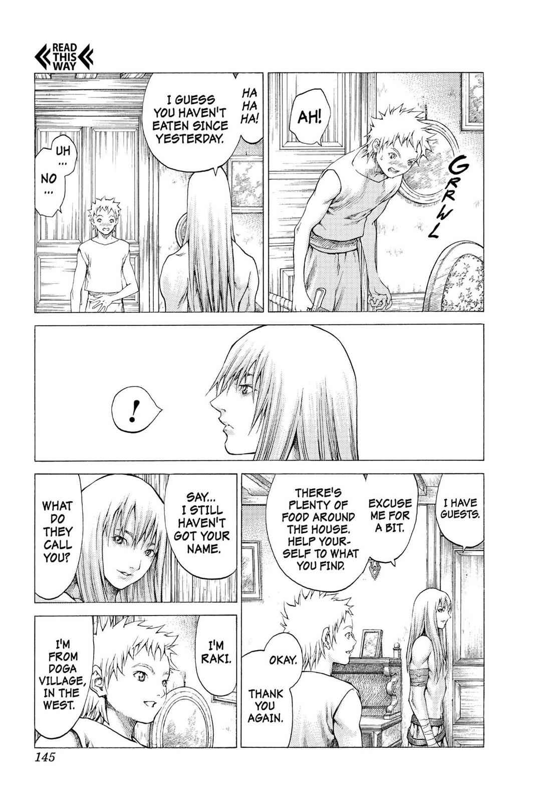 Claymore Chapter 56 Page 10