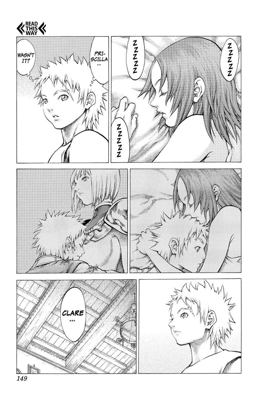 Claymore Chapter 56 Page 14