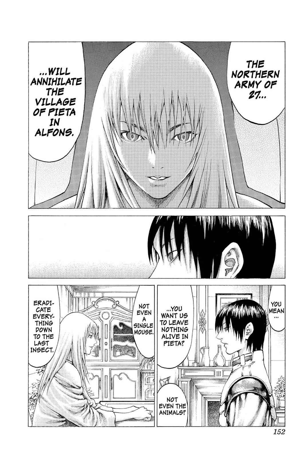 Claymore Chapter 56 Page 17