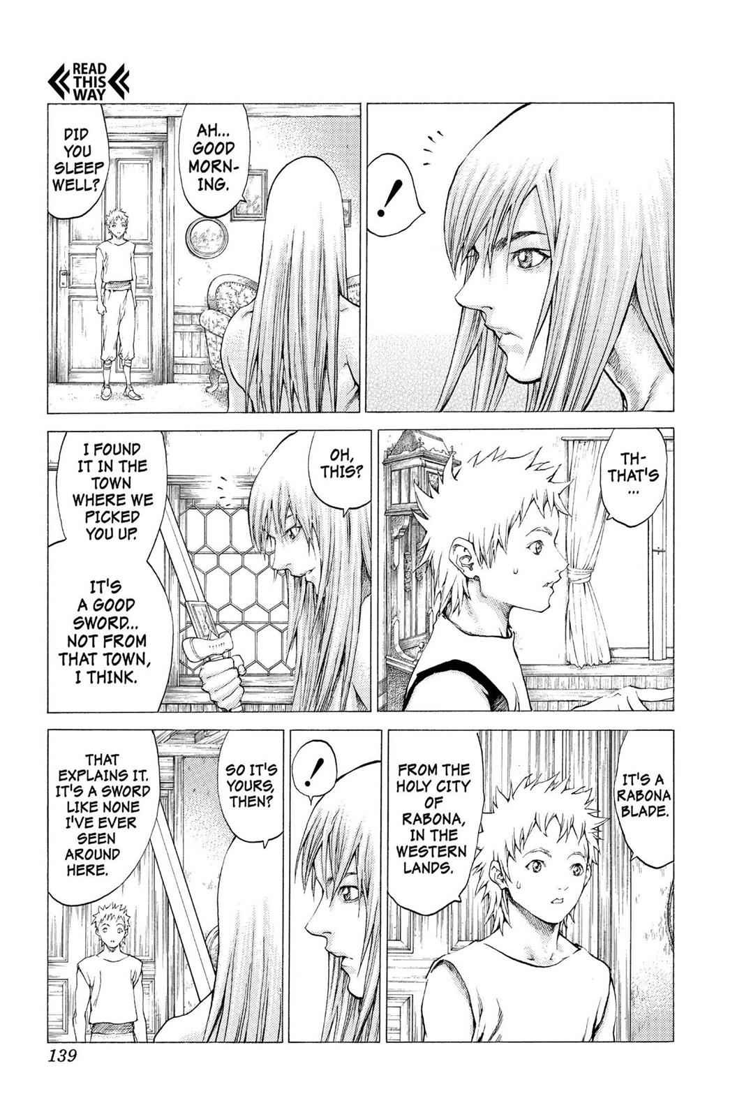 Claymore Chapter 56 Page 4