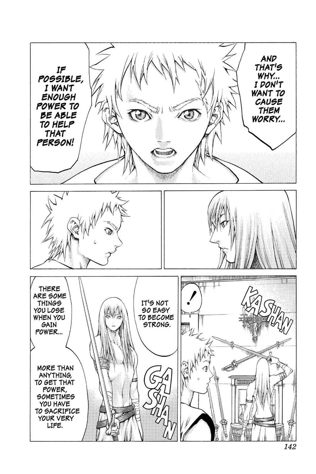 Claymore Chapter 56 Page 7