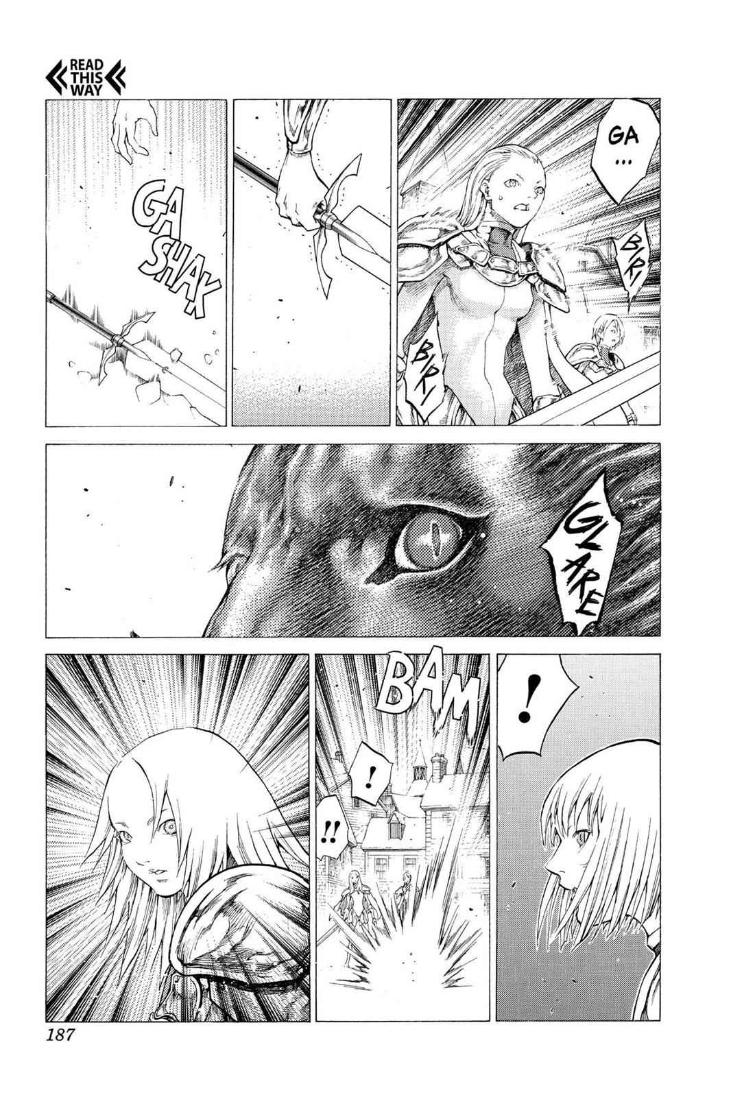 Claymore Chapter 57 Page 28