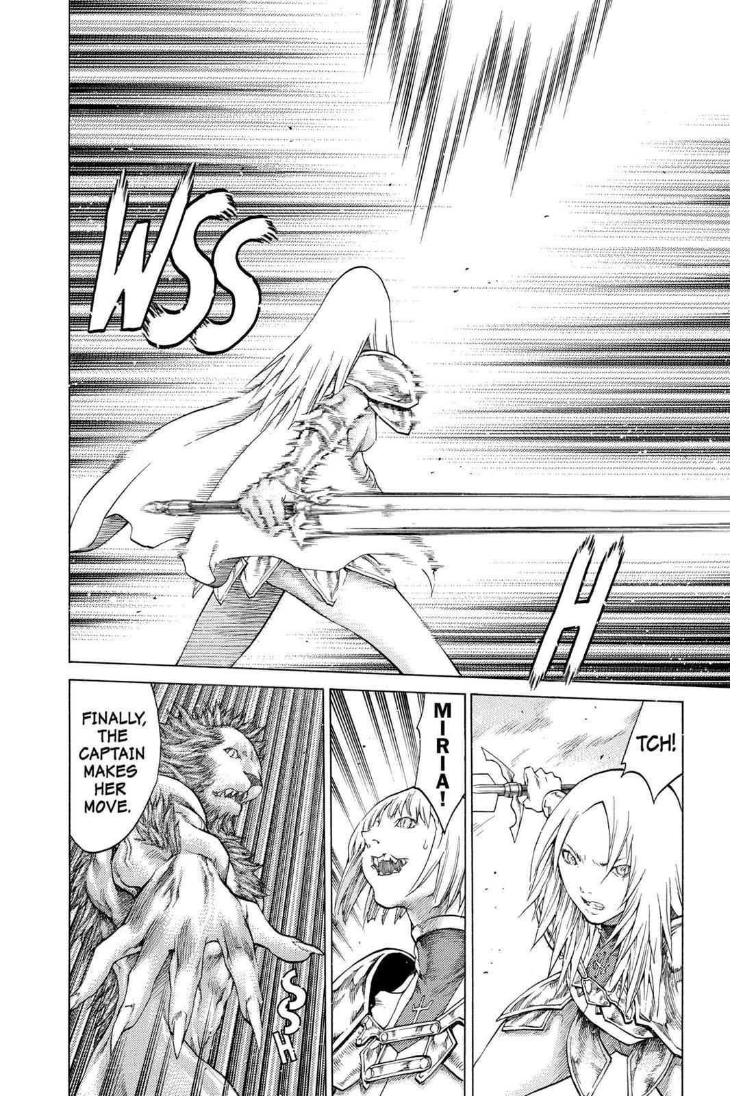 Claymore Chapter 58 Page 16