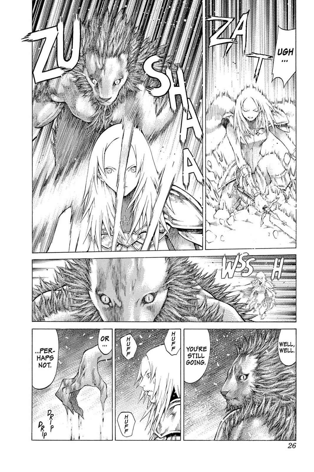 Claymore Chapter 58 Page 26