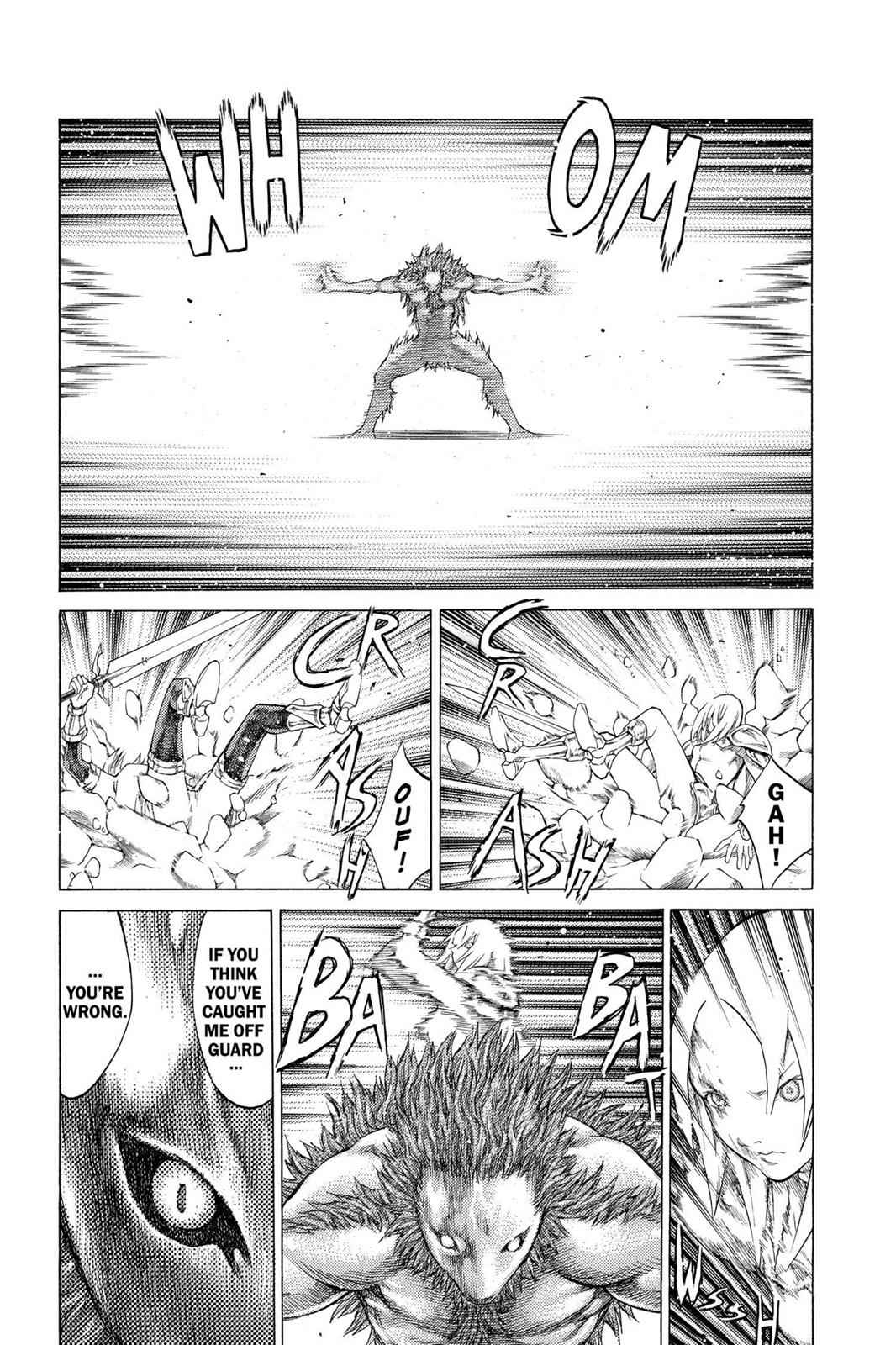 Claymore Chapter 58 Page 29
