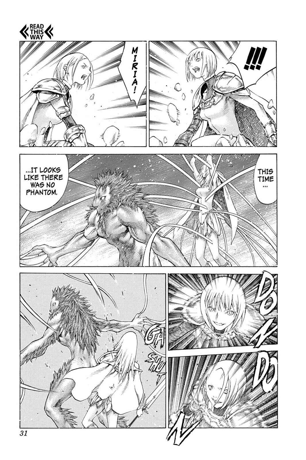 Claymore Chapter 58 Page 31