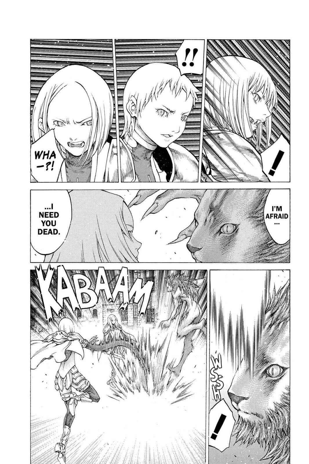 Claymore Chapter 58 Page 8