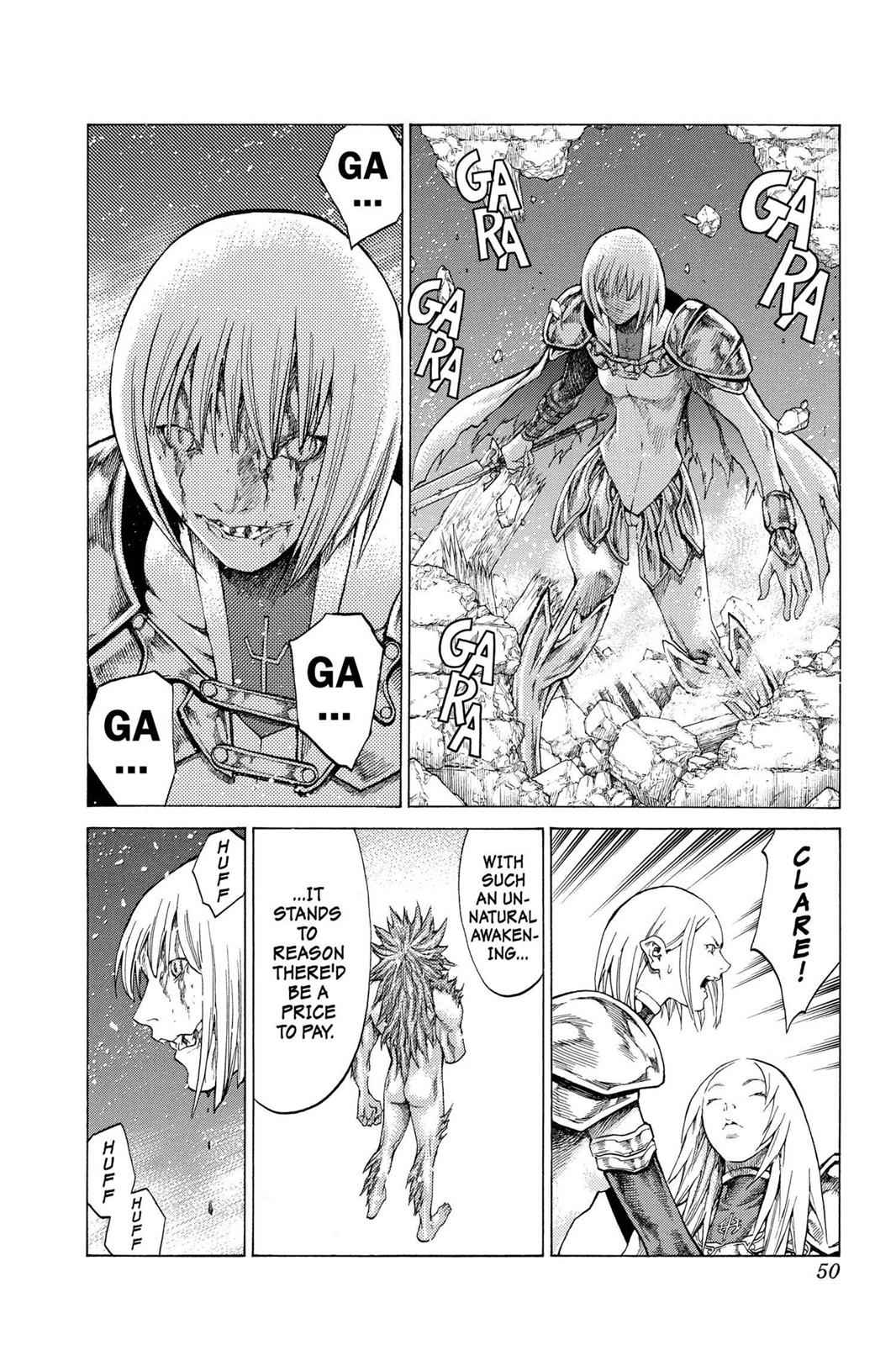 Claymore Chapter 59 Page 11