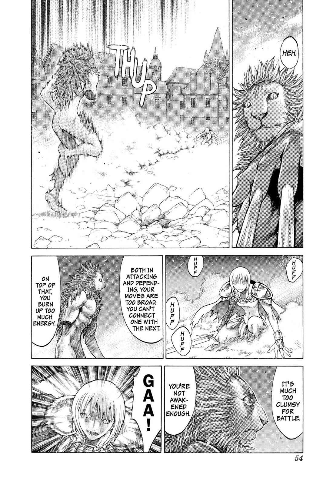 Claymore Chapter 59 Page 15