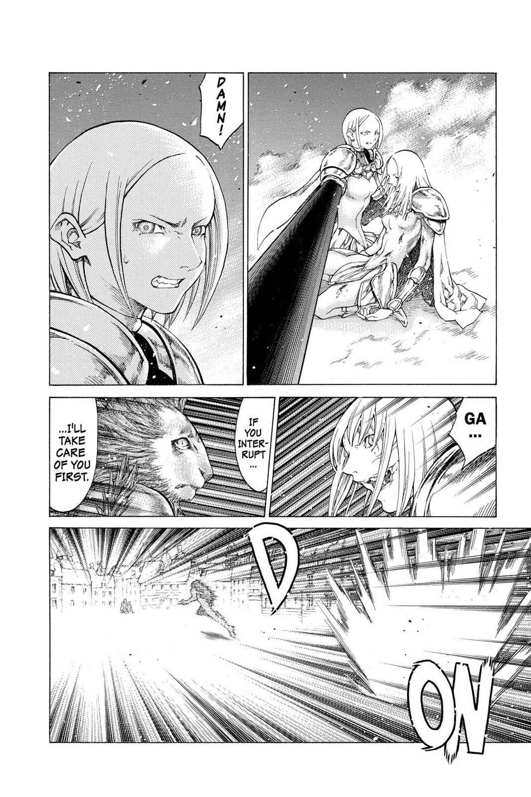 Claymore Chapter 59 Page 17