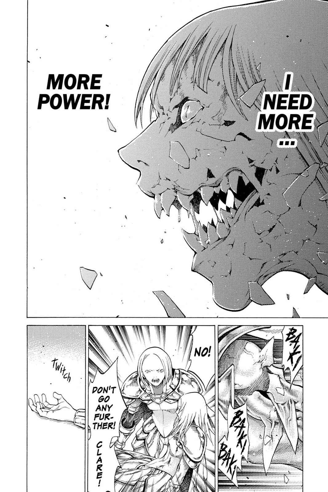 Claymore Chapter 59 Page 25