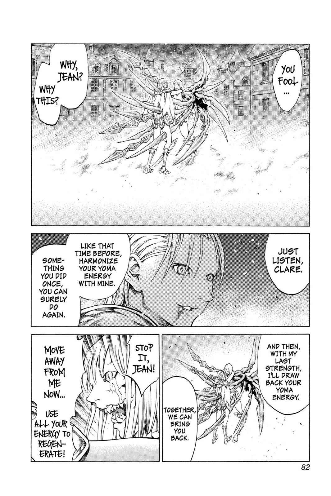 Claymore Chapter 60 Page 12