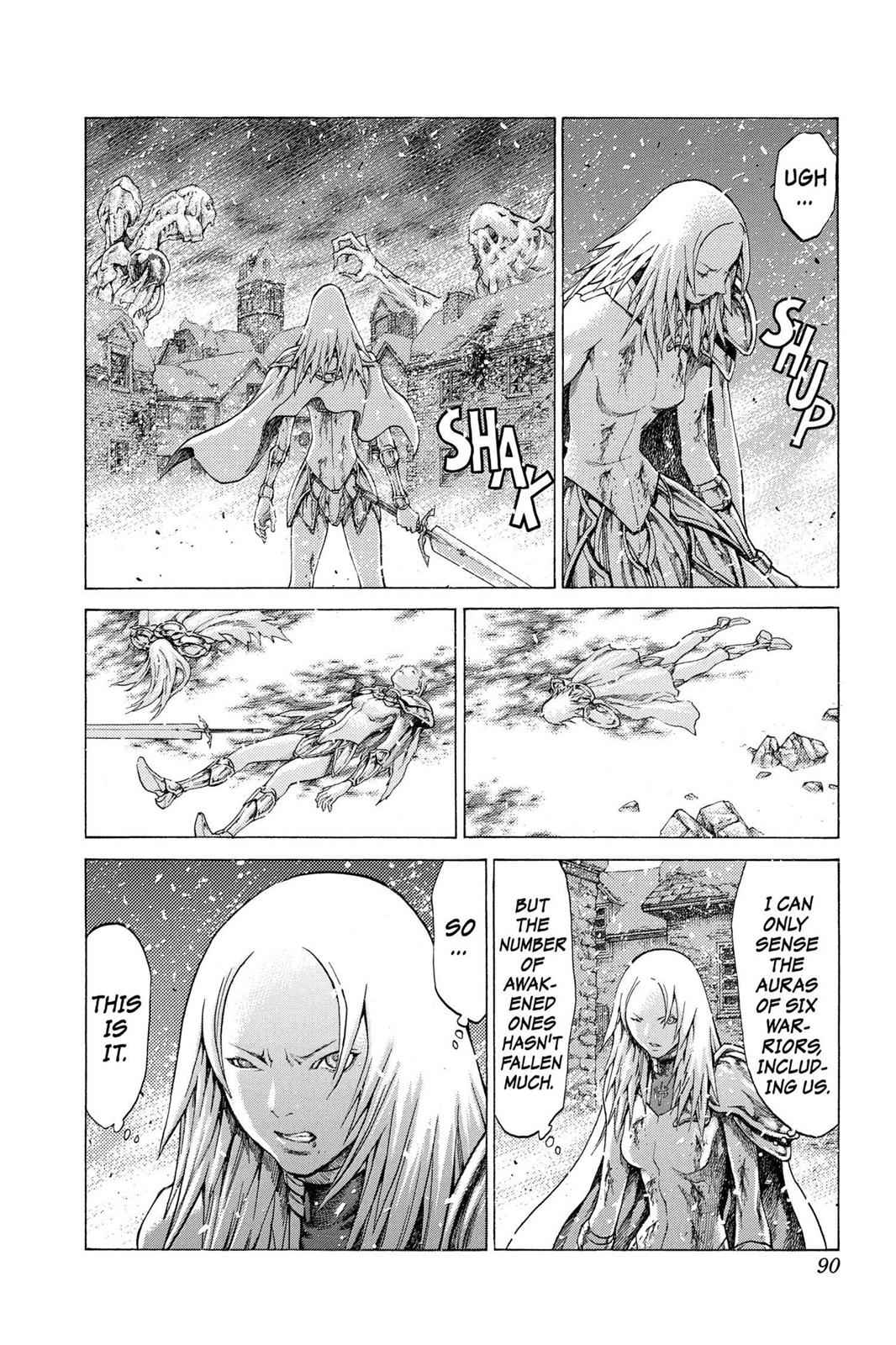 Claymore Chapter 60 Page 19