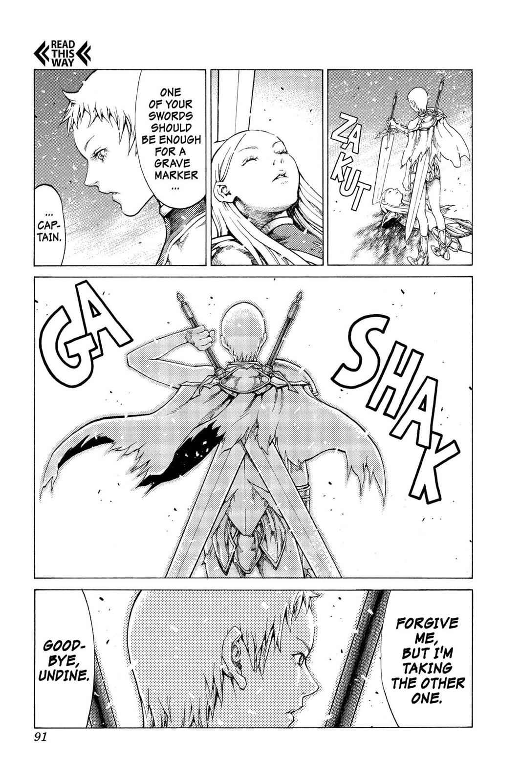 Claymore Chapter 60 Page 20