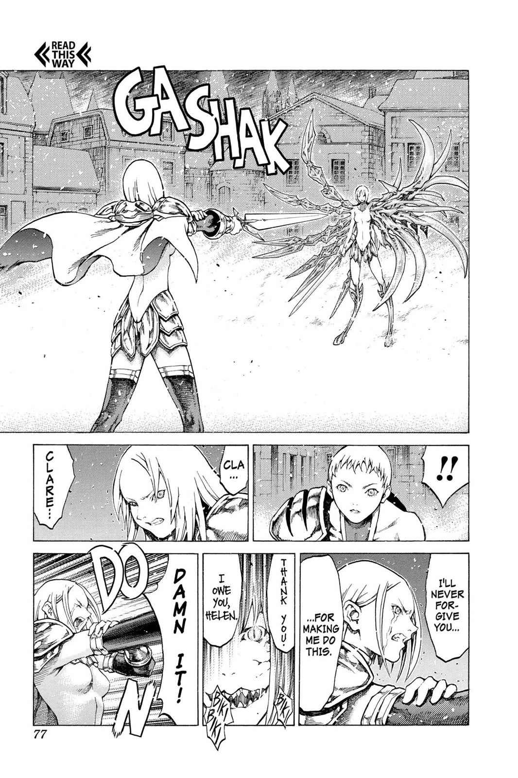 Claymore Chapter 60 Page 7