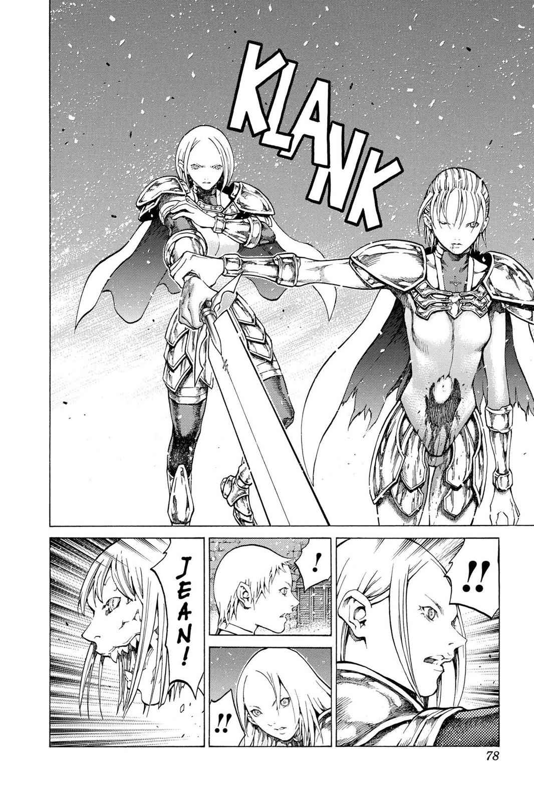 Claymore Chapter 60 Page 8