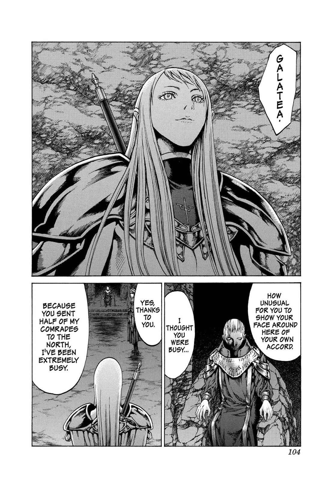 Claymore Chapter 61 Page 10
