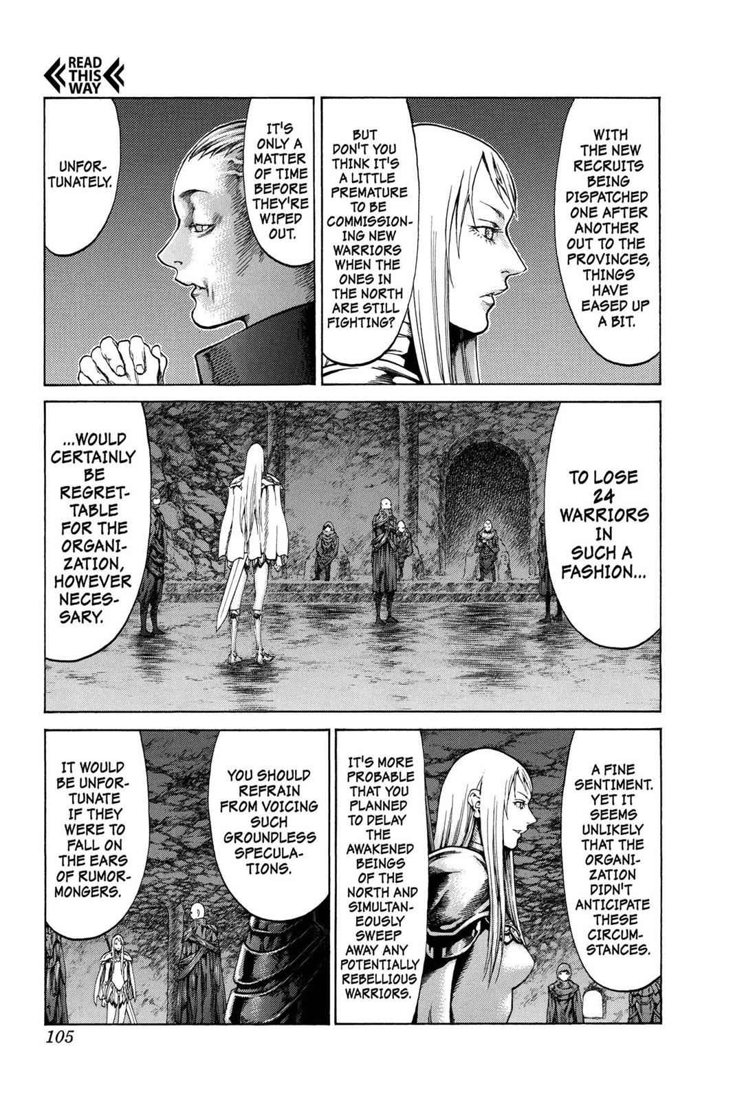 Claymore Chapter 61 Page 11