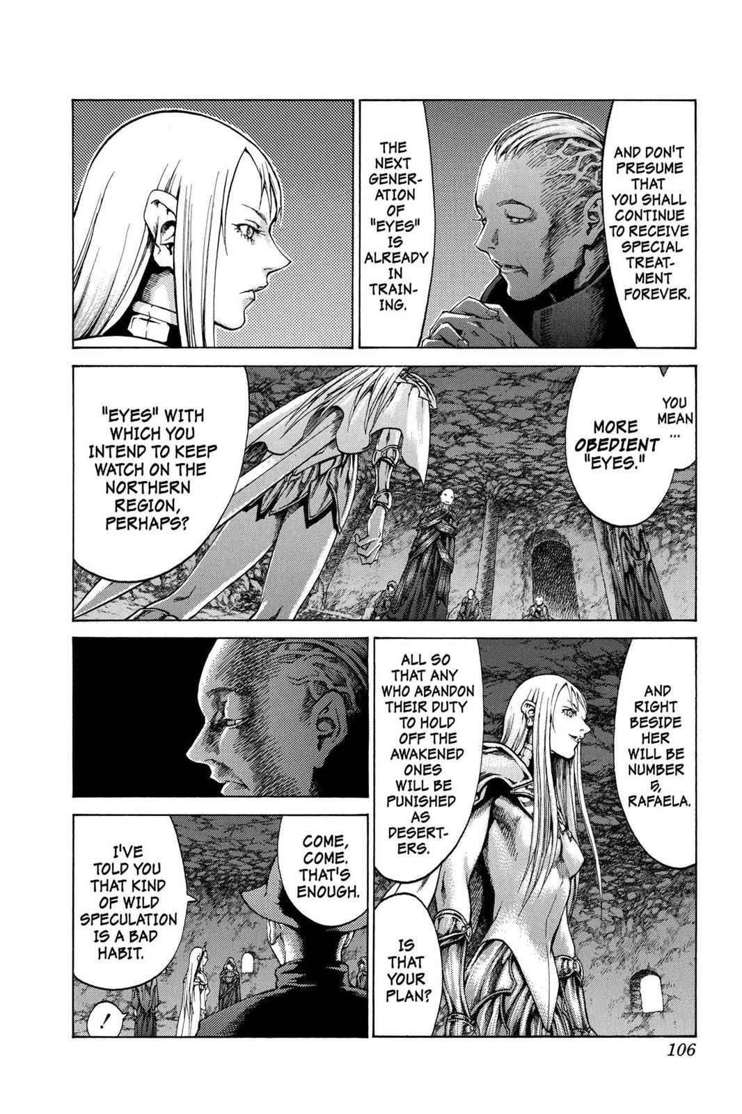 Claymore Chapter 61 Page 12
