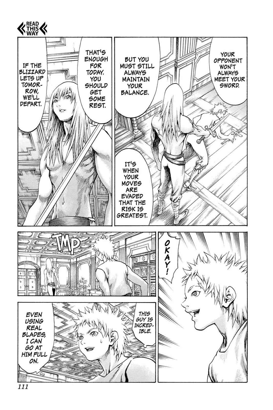 Claymore Chapter 61 Page 17