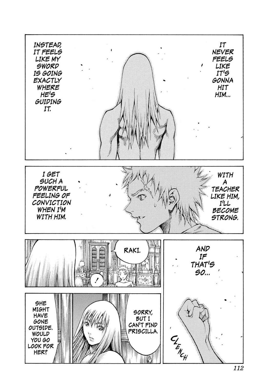 Claymore Chapter 61 Page 18