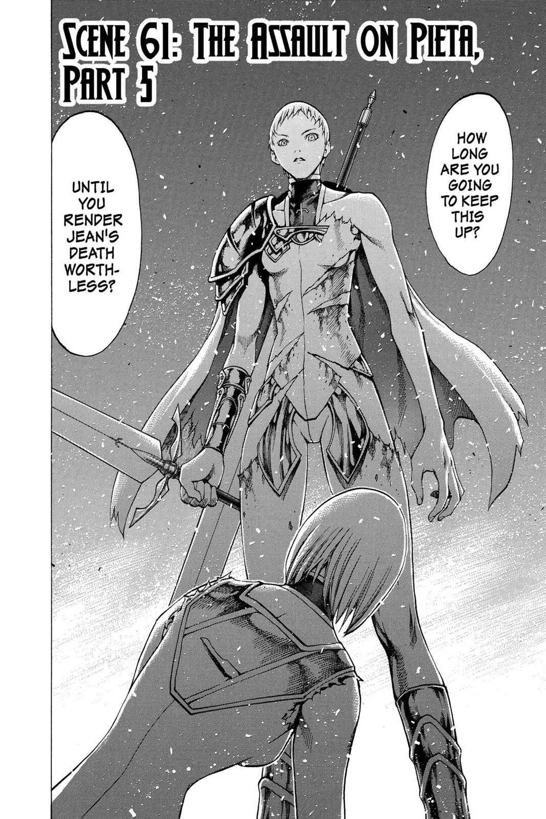 Claymore Chapter 61 Page 2