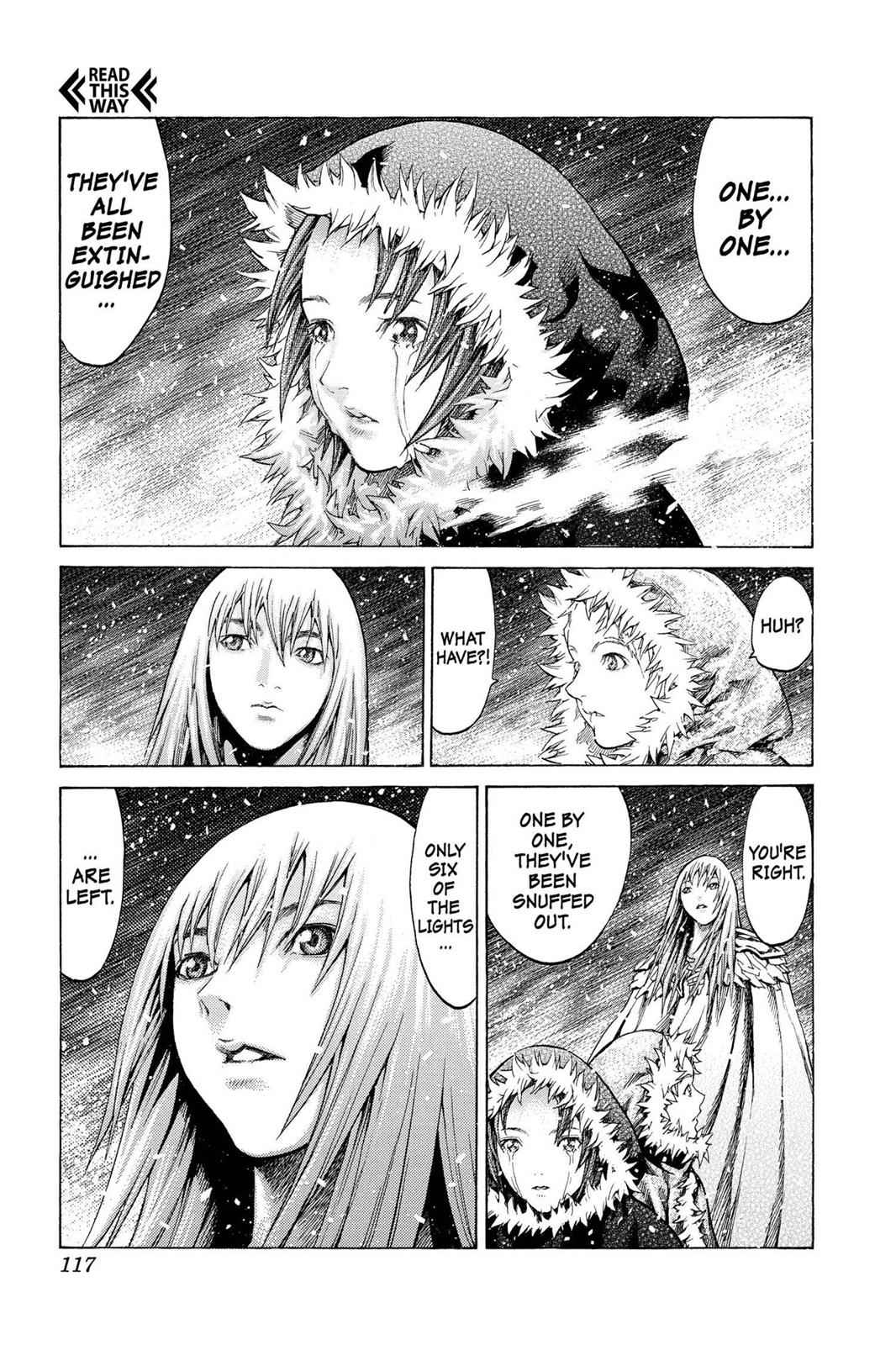 Claymore Chapter 61 Page 23