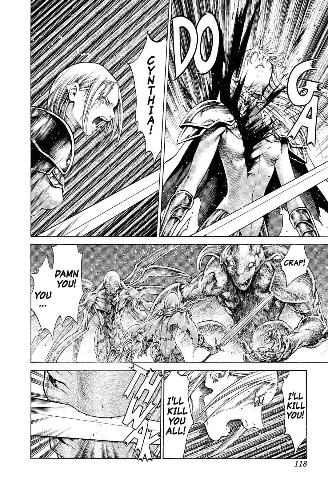 Claymore Chapter 61 Page 24
