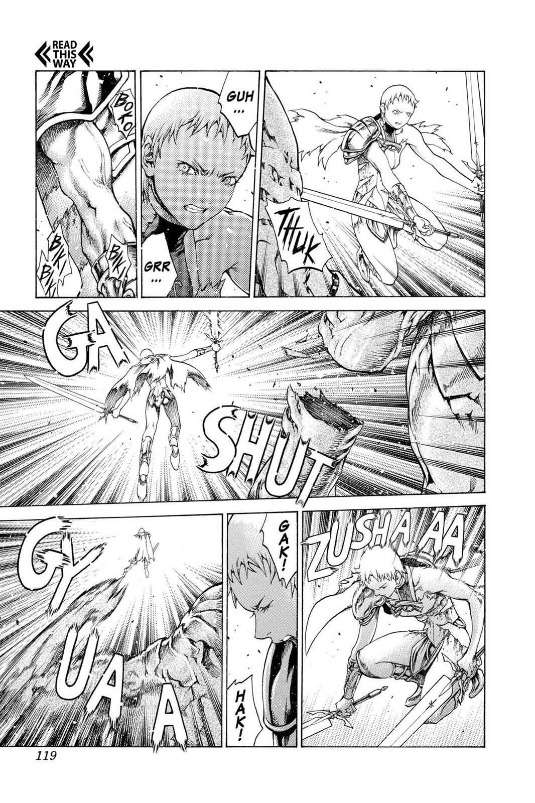 Claymore Chapter 61 Page 25