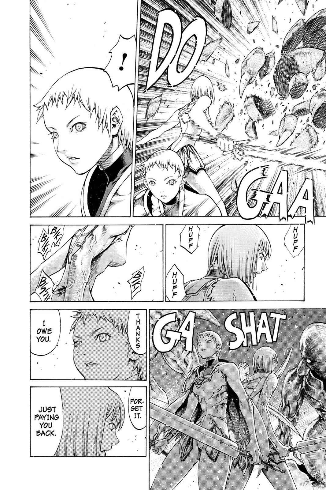 Claymore Chapter 61 Page 26