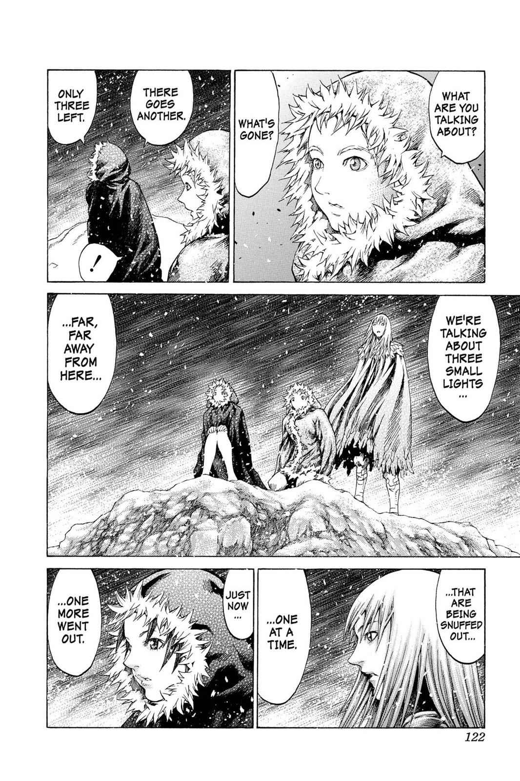 Claymore Chapter 61 Page 28