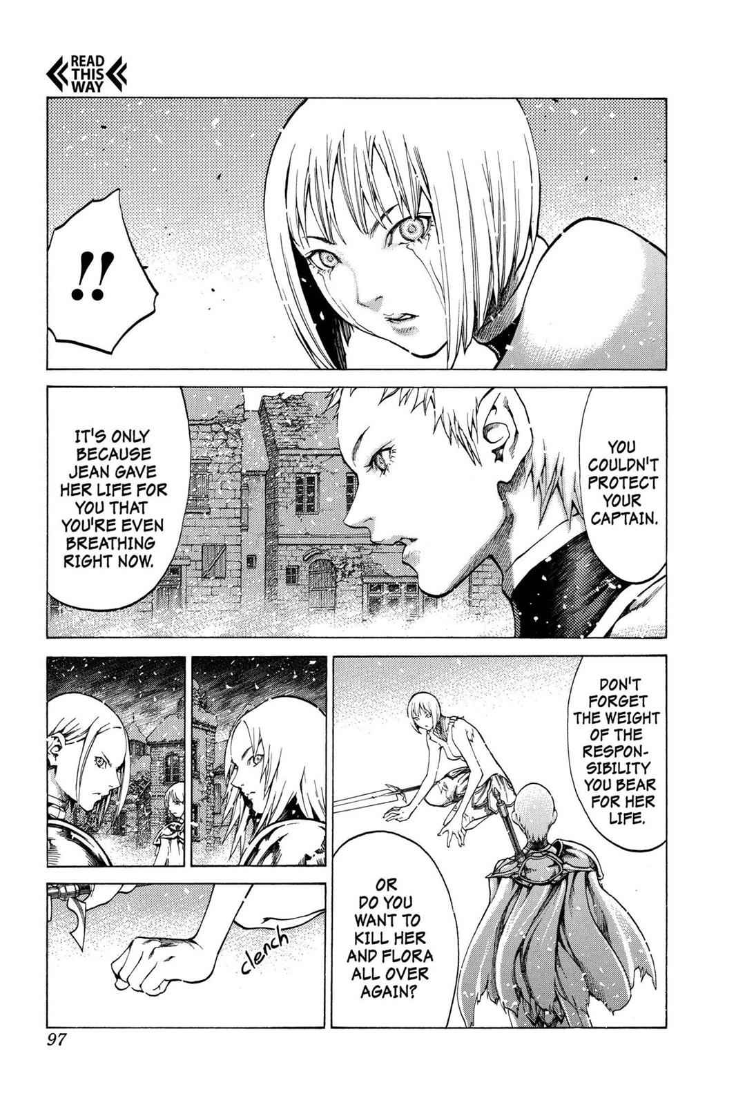 Claymore Chapter 61 Page 3