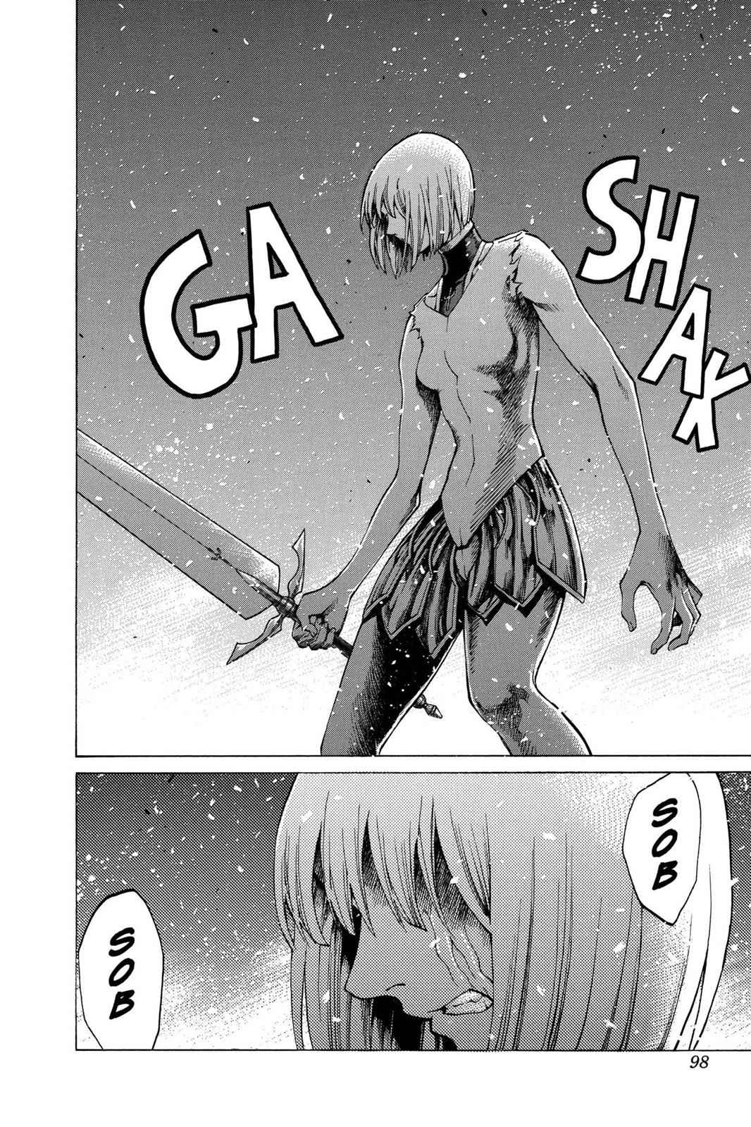 Claymore Chapter 61 Page 4